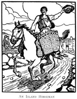 An_island_horseman